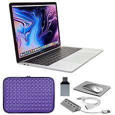 """Apple Macbook Pro® 13"""" 256GB Laptop with Touch Bar and Accessories"""