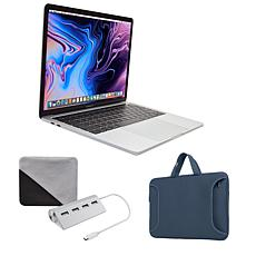 "Apple MacBook Pro Intel Core i5 13"" Retina 128GB Laptop w/Carry Case"