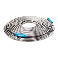 Aqua Joe® Heavy-Duty 75' Stainless Steel Garden Hose