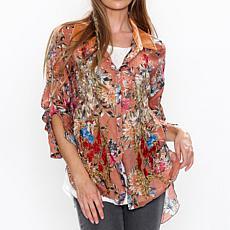 Aratta Floral Frenzy Shirt