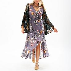 Aratta Invitation for Tea Wrap Dress