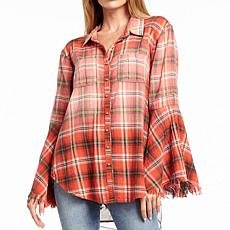 Aratta Isabella Bell Sleeve Shirt