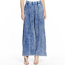 Aratta She Does Not Care Knit Pants - Denim Wash
