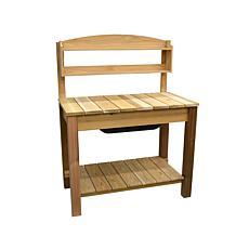 Arboria Western Cedar Classic Potting Bench Set