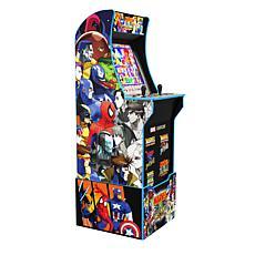 Arcade1Up Marvel vs. Capcom Arcade with Riser and Stool