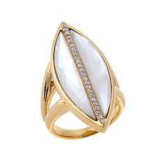 Argent by Paige Coco Mother-of-Pearl Ring