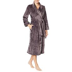 Aria Plush Textured Rose Wrap Robe