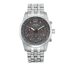 Armitron Men's Multifunctional 3-Crown Stainless Steel Watch