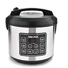 Aroma 20-Cup Digital Cool-Touch Rice Cooker/Food Steamer/Slow Cooker