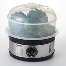 Aroma AFS-186 5-Qt. Food Steamer - Stainless Steel