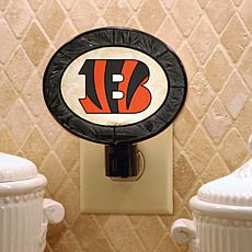 Art Glass Nightlight - Cincinnati Bengals - NFL