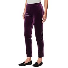 """As Is"" Antthony ""All That Glitters"" Pull-On Stretch Velvet Pant"