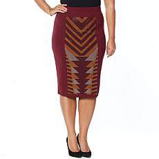 """As Is"" Antthony Holiday Luxe Pencil Skirt"