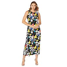 """As Is"" Antthony Printed Maxi Tank Dress"