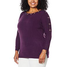 """As Is"" Antthony ""Tis the Season"" Dolman-Sleeve Sweater"