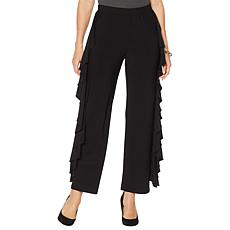 """As Is"" Antthony ""Twilight Collection"" Ruffle Pant"