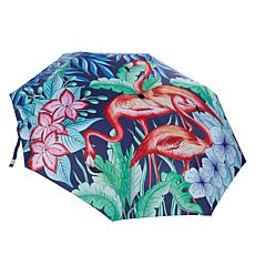 """As Is"" Anuschka Automatic Open-Close Printed Umbrella"