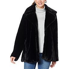 """""""As Is"""" Avec Les Filles Faux Fur Coat"""