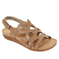 """As Is"" Baretraps® Jeovanna Laser-Cut Wedge Sandal"