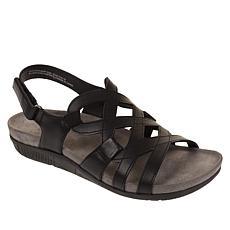 """As Is"" Baretraps® Jeovanna Laser-Cut Wedge Sandal"