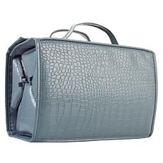 """As Is"" Better Beauty Case - Large Croco Embossed"