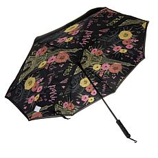 """As Is"" BetterBrella 48"" Jumbo Auto Reverse Open and Close Umbrella"