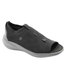 """""""As Is"""" Bzees Charm Engineered Knit Peep-Toe Sneaker"""