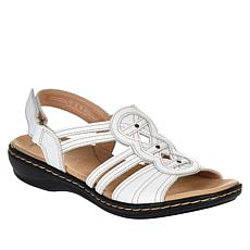 """""""As Is"""" Clarks Collection Leisa Janna Leather Sandal"""