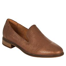 """As Is"" Clarks Collection Trish Style Slip-On Leather Loafer"