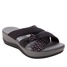 """As Is"" CLOUDSTEPPERS by Clarks Arla Rae Slide Sandal"