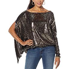 """""""As Is"""" Coldesina Jenny Long-Sleeve Top"""