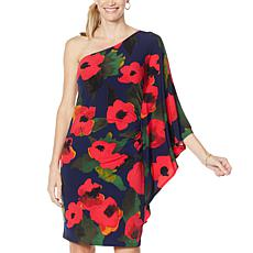 """""""As Is"""" Colleen Lopez One-Shoulder Flounce Dress"""