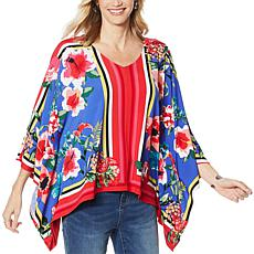 """""""As Is"""" Colleen Lopez Printed Butterfly Top"""