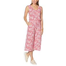 """""""As Is"""" Comfort Code Stretch Jersey Tank Jumpsuit"""