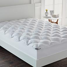 """As Is"" Concierge Collection SuperLoft™ Mattress Pad - Diamond Quilted"
