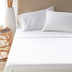 """""""As Is"""" Concierge CoolPlus 4-pc 400 Thread Count Rayon from Bamboo ..."""