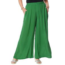"""""""As Is"""" Curations Wide Leg Gauze Pant"""