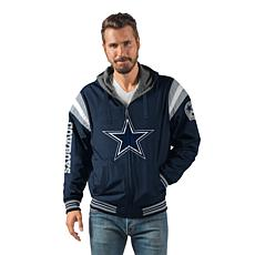 """As Is"" Dallas Cowboys Hardball Reversible Hooded Jacket"