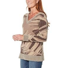 """""""As Is"""" DG2 by Diane Gilman Fuzzy Novelty Sweater"""
