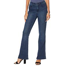 """As Is"" DG2 by Diane Gilman Virtual Stretch Flare Jean - Basic"