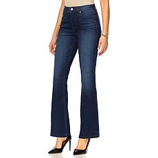 """As Is"" DG2 by Diane Gilman Virtual Stretch Shaper Boot-Cut Jean"
