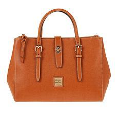 """""""As Is"""" Dooney & Bourke Miller Saffiano Leather Satchel"""