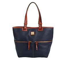 """As Is"" Dooney & Bourke Pebble Leather Shopper"