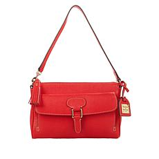 """As Is"" Dooney & Bourke Saffiano Leather Dana Pocket Clutch"