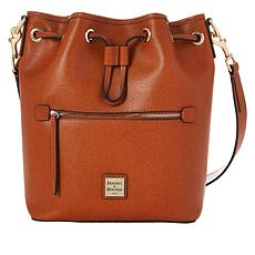"""As Is"" Dooney & Bourke Saffiano Leather Drawstring Bag"