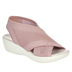 """As Is"" easy spirit Missy Stretch Wedge Sandal"