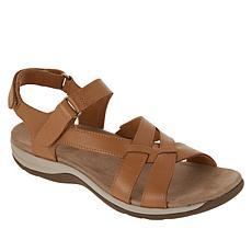 """As Is"" easy spirit Silvie Leather Sandal"