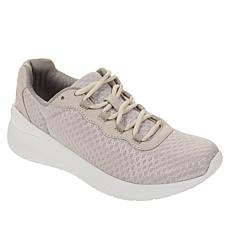 """As Is"" easy spirit Zip2 Lace-Up Walking Sneaker"