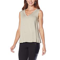 """""""As Is"""" G by Giuliana LounGy EcoLuxe Knit Swing Tank"""