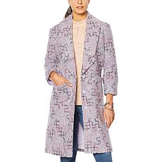 """As Is"" G by Giuliana Novelty Tweed Jacket"